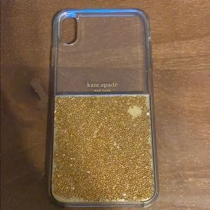 Kate Spade gold gemstone case iPhone XS Max